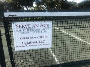 LightGrid Sponsors 9th Annual Serve An Ace Fundraiser For St. Jude Children's Research Hospital